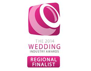 2014 Wedding Industry Awards Regional Finalist