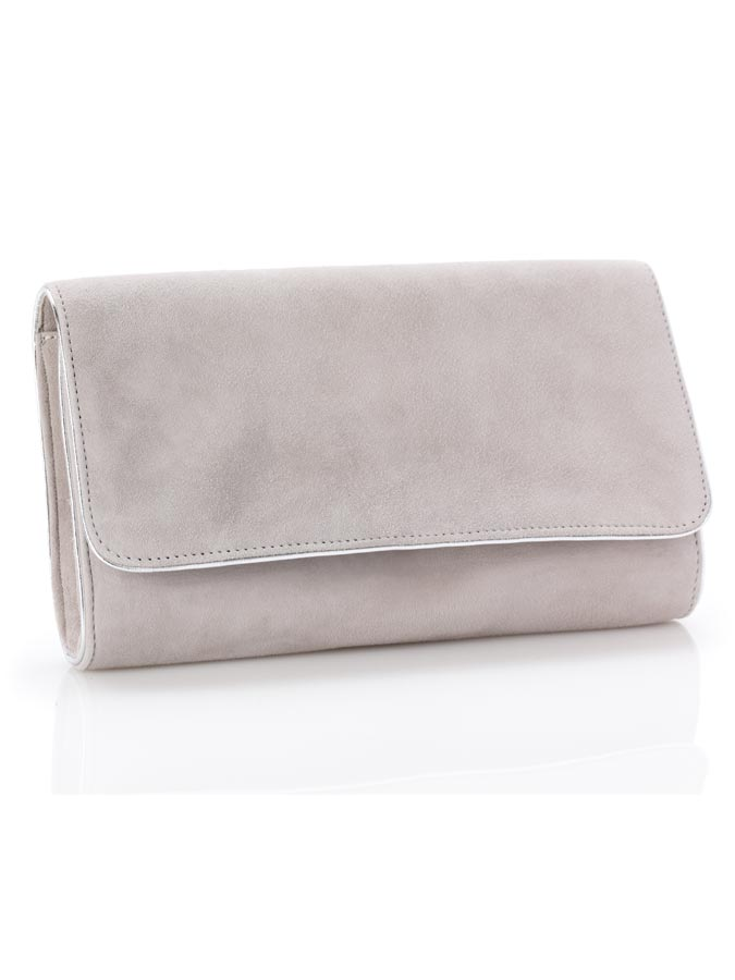 Natasha Grey Clutch